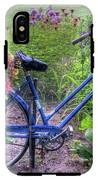 Flowered Bicycle IPhone X Tough Case