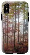 Fog In Autumn Forest IPhone X Tough Case