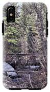 Footbridge In The Spring IPhone X Tough Case