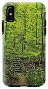 Forest Stairs IPhone X Tough Case