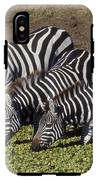 Four For Lunch - Zebras IPhone X Tough Case