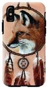 Fox Medicine Wheel IPhone X Tough Case