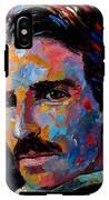 Free Energy Nikola Tesla IPhone X Tough Case