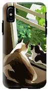 Garden IPhone X Tough Case