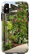 Garden With Roses IPhone X Tough Case