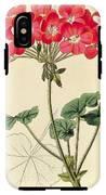 Geraniums IPhone X Tough Case