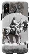 Gettysburg National Park 17th Pennsylvania Cavalry Monument IPhone X Tough Case