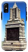Gettysburg National Park 6th New York Cavalry Memorial IPhone X Tough Case
