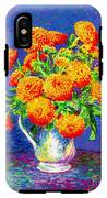 Gift Of Gold, Orange Flowers IPhone X Tough Case