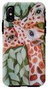 Giraffe Trio By Christine Lites IPhone X Tough Case
