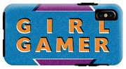 Girl Gamer IPhone X Tough Case