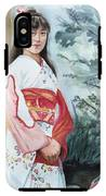 Girl In Kimono IPhone X Tough Case
