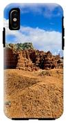 Goblin Valley Pano 3 IPhone X Tough Case