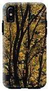 Golden Colors Of Autumn In New England  IPhone X Tough Case