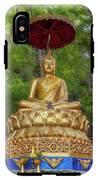 Golden Thai Buddha IPhone X Tough Case