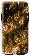 Golden Ufos From Egyptology  IPhone X Tough Case