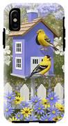 Goldfinch Garden Home IPhone X Tough Case