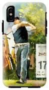Golf In Club Fontana Austria 01 Dyptic Part 01 IPhone X Tough Case