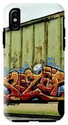 Graffiti Boxcar IPhone X Tough Case