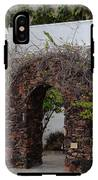 Grapevine Covered Stone Garden Door IPhone X / XS Tough Case