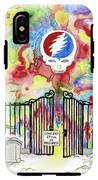 Grateful Dead Concert In Heaven IPhone X Tough Case
