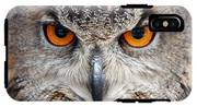 Great Horned Owl IPhone X Tough Case