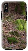 Green Covered Rock IPhone X Tough Case
