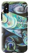 Green Tarpon Collage IPhone X Tough Case