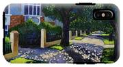 Griffith Avenue Through The Trees IPhone X Tough Case