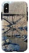 Gunpowder Falls St Pk Bridge - Pano IPhone X Tough Case