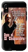 Guns Of El Chupacabra IPhone X Tough Case