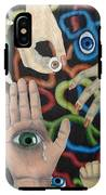 Hands And Eyes IPhone X Tough Case
