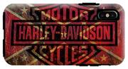 Harley Davidson Logo Confederate Flag IPhone X Tough Case
