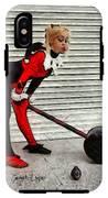 Harley Quinn Classic  - Free Style -  - Da IPhone X Tough Case