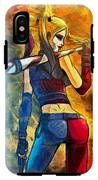 Harley Quinn Spicy  - Van Gogh Style -  - Da IPhone X Tough Case