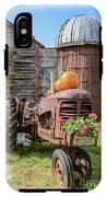 Harvest Time Vintage Farm With Pumpkins IPhone X Tough Case