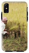 Harvesting Rice IPhone X Tough Case