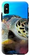 Hawksbill Turtle IPhone X Tough Case