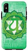 Heart Chakra - Awareness IPhone X Tough Case