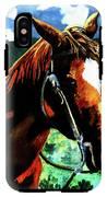 Horse IPhone X Tough Case