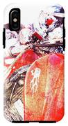 Hot Red IPhone X / XS Tough Case