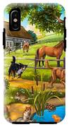 House Animals IPhone X Tough Case