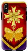 Huguenot Cross And Shield IPhone X Tough Case