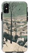 Hunters In The Snow IPhone X Tough Case