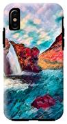 Iceland Waterfalls IPhone X Tough Case