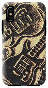 Icons Of Vintage Music IPhone X Tough Case