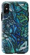 Illuminated Blue IPhone X Tough Case