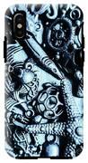 In Blue Nautilus  IPhone X Tough Case