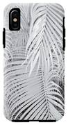 Infrared Palm Abstract IPhone X Tough Case