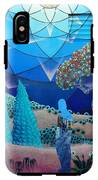 Inner Space-art On A Wall.  IPhone X Tough Case